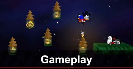 DuckTales: Remastered: Gameplay