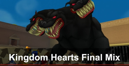 Kingdom Hearts HD 1.5 Remix: Gameplay de Kingdom Hearts Final Mix