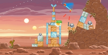 Angry Birds: Star Wars: Los personajes