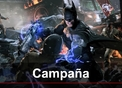 Batman: Arkham Origins: Gameplay: Campaña