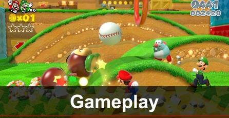 Super Mario 3D World: Gameplay