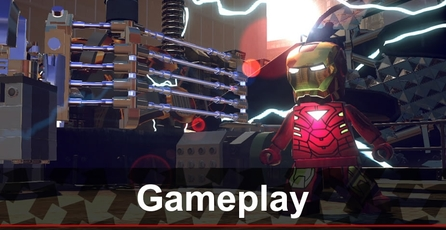 Lego Marvel Super Heroes: Gameplay