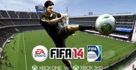 FIFA 14: Comparativa