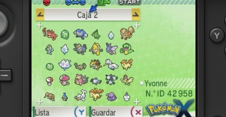 Pokémon X: Banco Pokémon