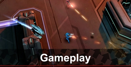 Halo: Spartan Assault: Gameplay