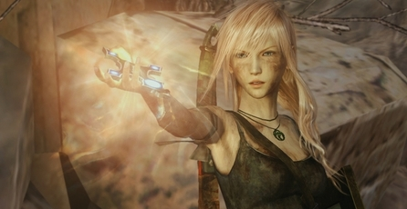 Lightning Returns: Final Fantasy XIII: Tomb Raider DLC