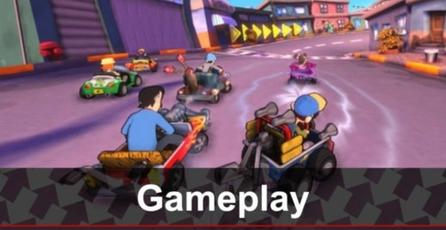 El Chavo Kart: Gameplay
