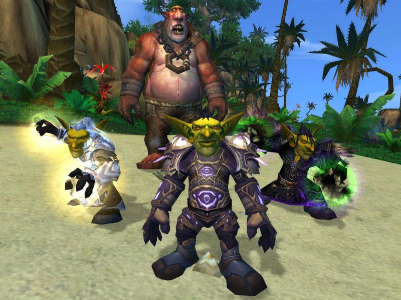 Goblin Priest, Mage y Warlock