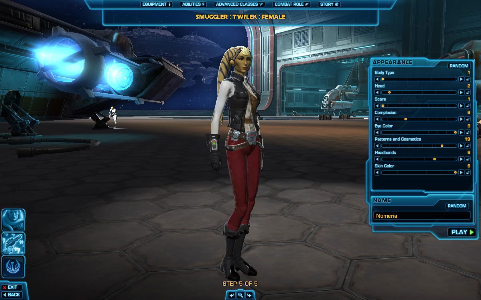 Star wars the old republic levelup - Juego de crear tu personaje y tu casa ...