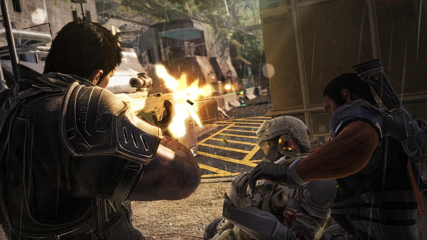 Si se combinan las armas Xenotech de 2 personajes, la experiencia se repartirá entre ambos