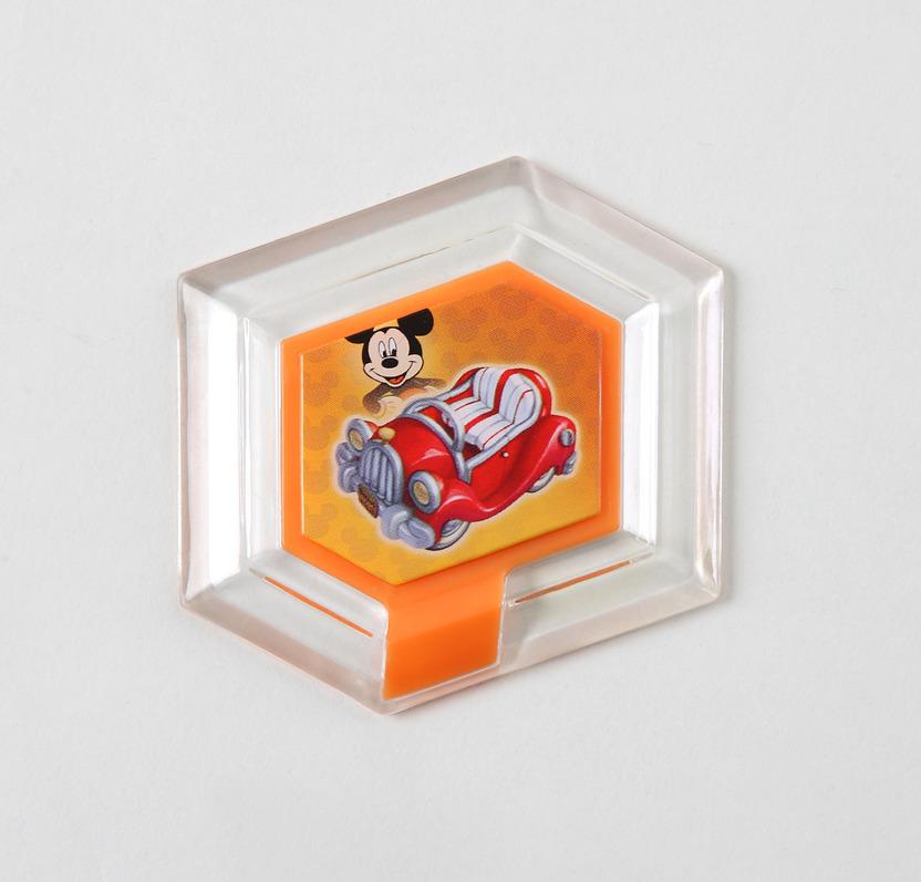 Usa el carro de Mickey en Toy Box
