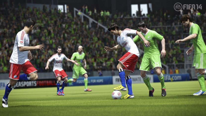 El control preciso del balón es la clave del nuevo FIFA