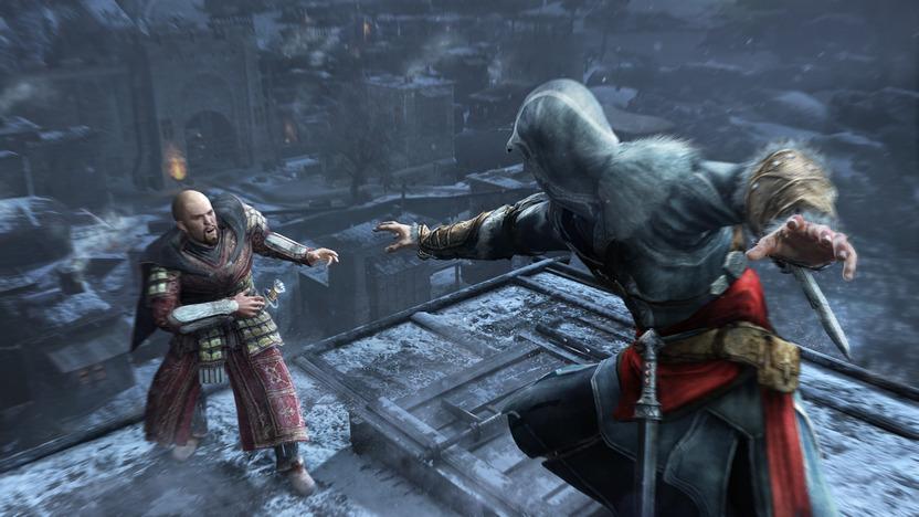 Ezio ahora es viejo, pero conserva sus habilidades y carisma