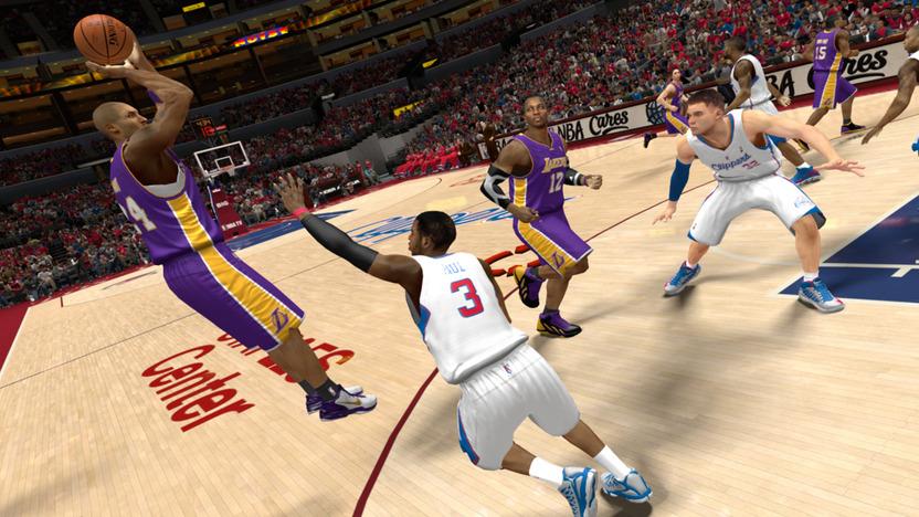 Muchas estrellas de la NBA están perfectamente recreadas en el juego hasta el mínimo detalle