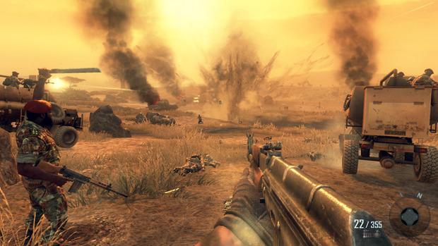 Black Ops II hace una mezcla muy entretenida y original de épocas y locaciones