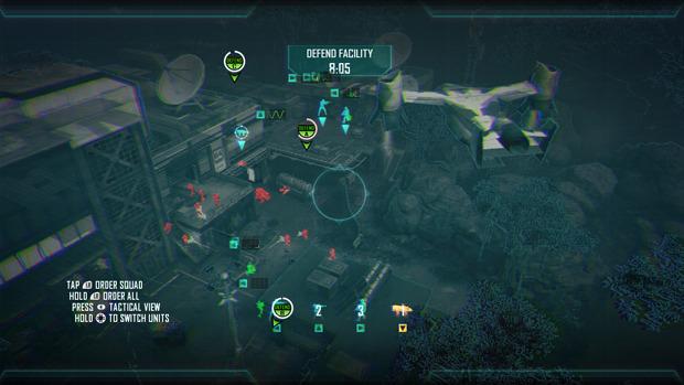 Las Strike Force Missions eran la oportunidad ideal para sacarle provecho al GamePad