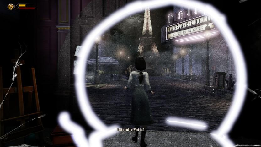 La habilidad especial de Elizabeth es fundamental no sólo para el sistema de juego, también para su trama