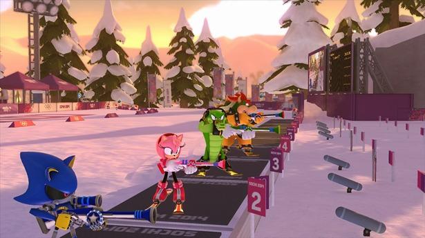 El biatlón utiliza tanto el Wiimote como el GamePad del Wii U