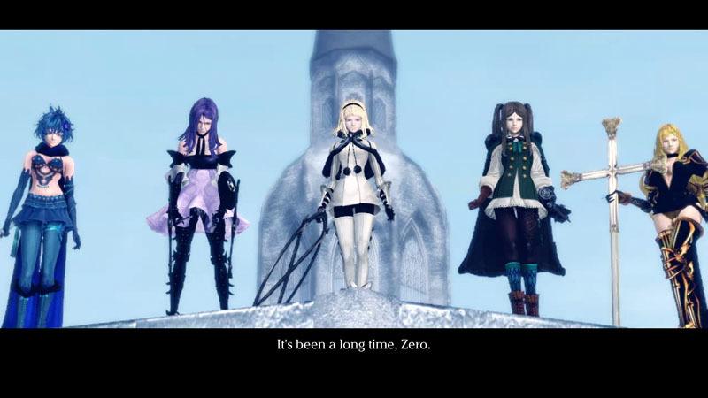 1, 2, 3, 4 y 5, las hermanas de Zero