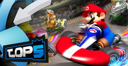 Top 5: Las mejores pistas de Mario Kart