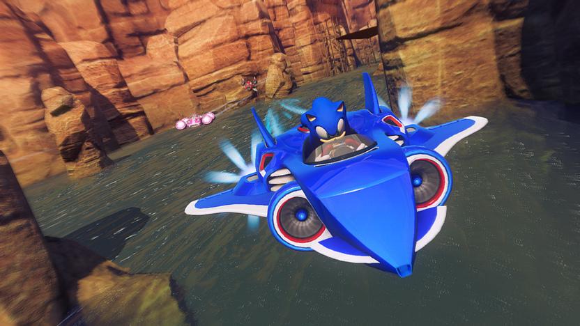 Sonic All-Stars Racing Transformed también estará disponible para Vita