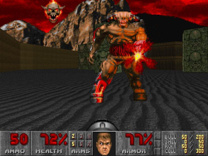 Doom engine, ayudó a popularizar el uso de motores de juego e inició el auge del género FPS