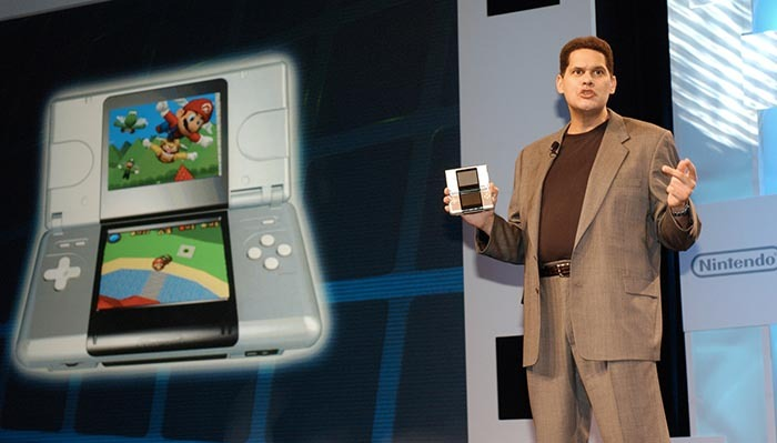 Desde su primera aparición en público, Reggie Fils-Aime ha sido uno de los principales portavoces de Nintendo