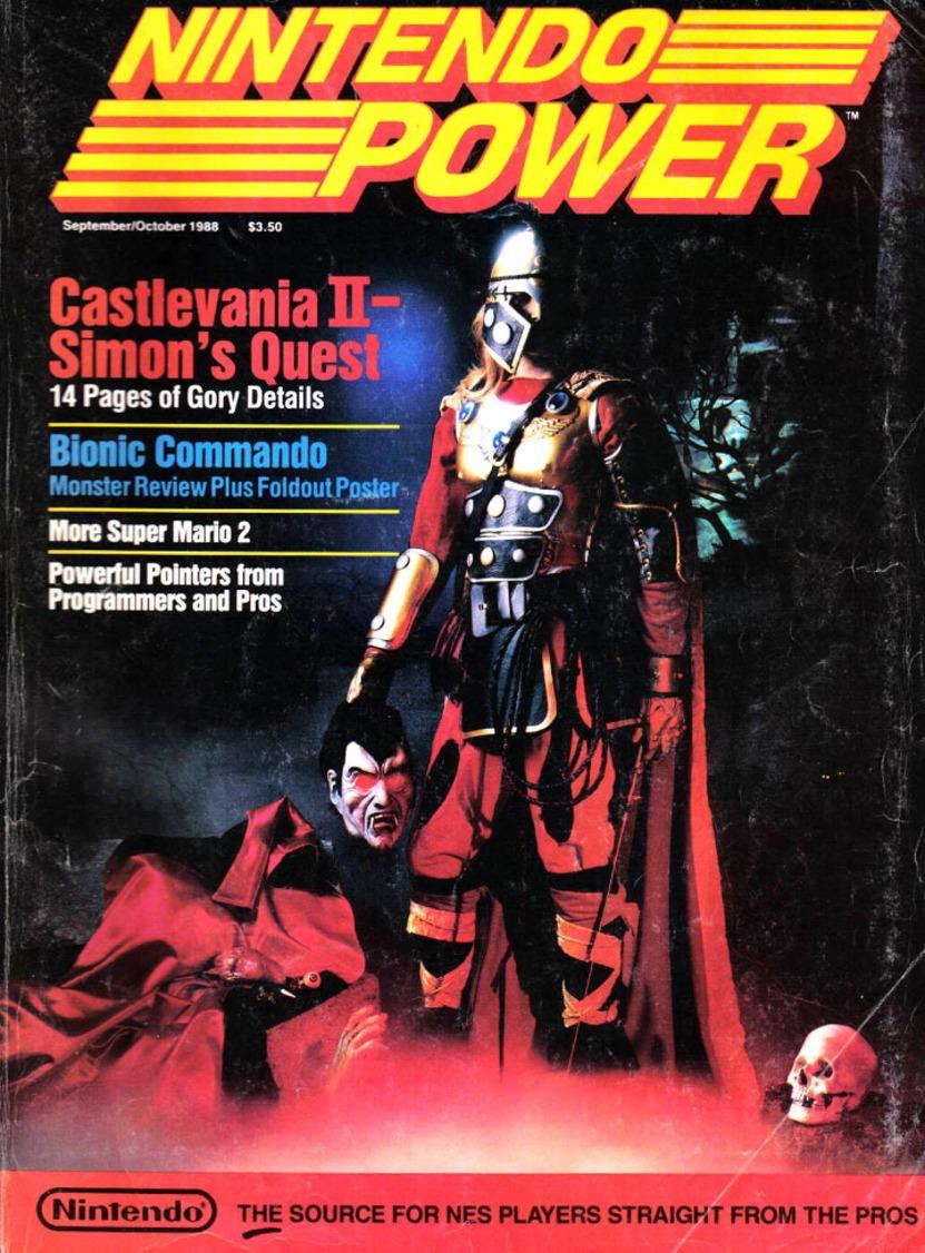 La mejor portada de Nintendo Power