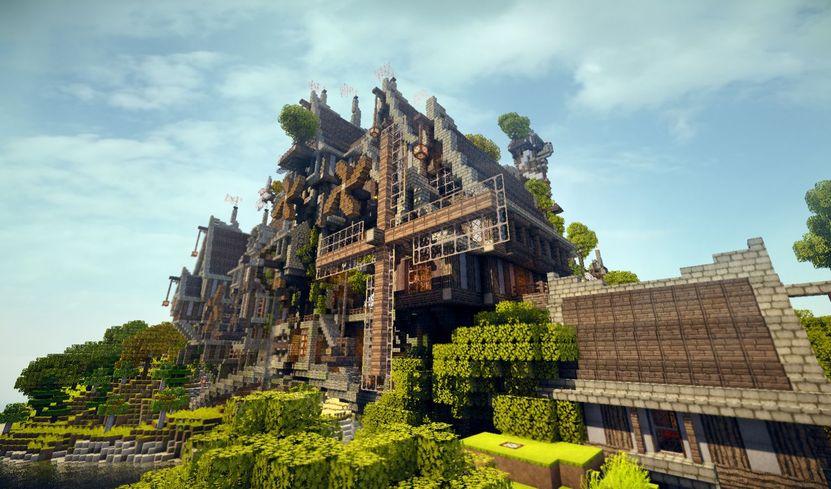 La capacidad de modificar el mundo de Minecraft casi por completo es uno de sus principales atractivos