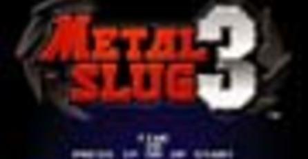 Metal Slug 3 llega hoy a Xbox Live Arcade.