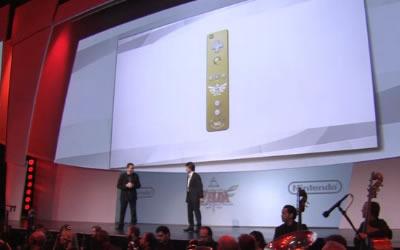 Wii Remote edición especial de Zelda