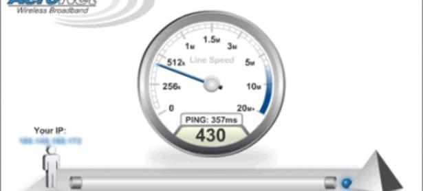 Internet en Chile: Recibimos un cuarto de la velocidad que pagamos