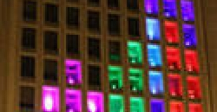 Estudiantes del MIT crean Tetris gigante