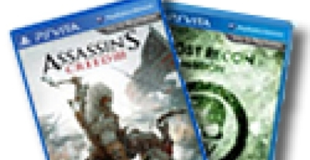 Filtran Ghost Recon y Assassin's Creed para Vita