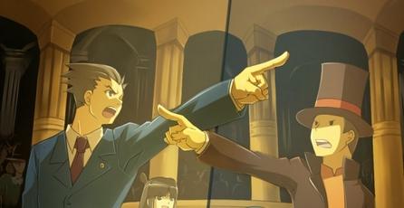 Ace Attorney 5 confirmado para 3DS, Detalles de Layton vs Wright