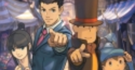 Trailer de Professor Layton vs. Ace Attorney muestra primer gameplay
