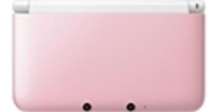 3DS XL rosa ya disponible en Estados Unidos