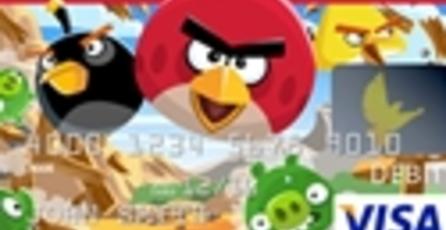 Angry Birds tendrá su propia tarjeta de débito
