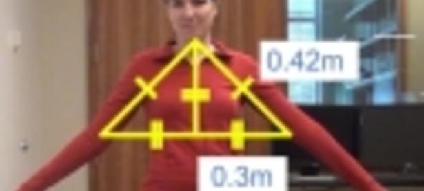 Personas no videntes practican yoga gracias a un programa realizado con Kinect