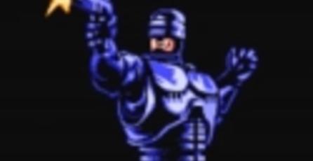 Crean figura de Robocop basada en juego de NES