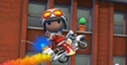 Podrás jugar como Sackboy en Joe Danger 2 de PS Vita