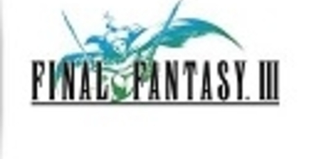 Habrá versión de Final Fantasy III para PC