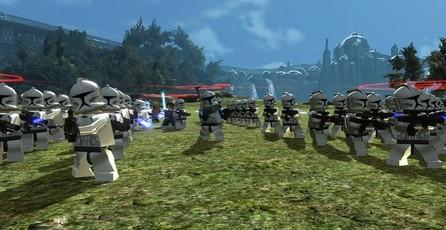 Lego Star Wars III: The Clone Wars: En una pequeña y lejana galaxia