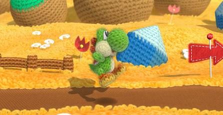 Yoshi's Woolly World: Yoshi de estambre