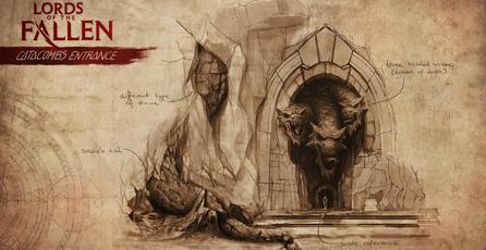Lords of the Fallen: Arte del juego