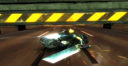 Final Fantasy VII G-Bike: La legendaria escena de la moto