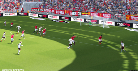 Pro Evolution Soccer 2015: Juego con el FOX Engine