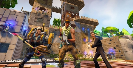 Fortnite: Defendiendo el fuerte