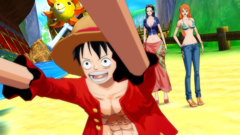 Algunas animaciones in-game parecen un episodio del anime
