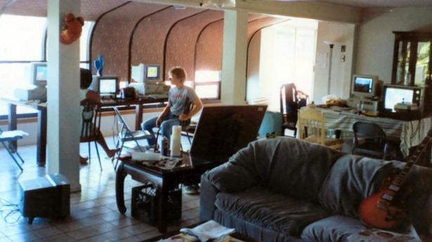 La casa del lago, donde Carmack y Romero creaban sus propios juegos a espaldas de sus jefes de Softdisk